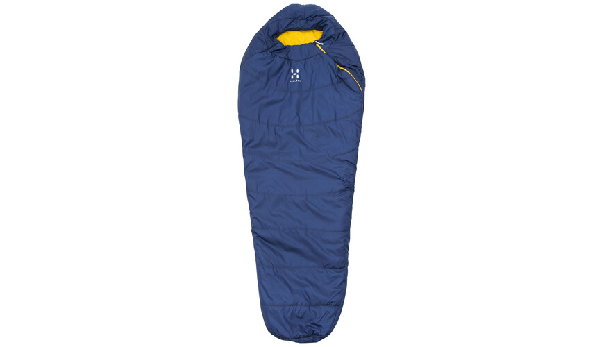 Haglöfs Tarius +6 Sleeping Bag 205cm hurricane blue